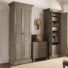 Lexington Twilight Bay Hartley Cabinet Finish: Distressed Textured Soft Taupe Gray