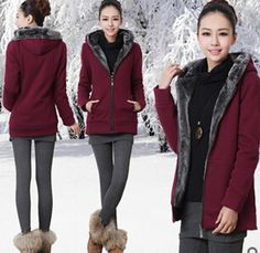 Free Shipping 2016 Women Hoody New of the s Fall and Winter Plus Velvet Hoodies and long sections  large yard sweatshirt   A1141 #Affiliate