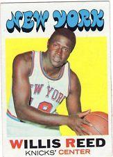 1972 Topps Knicks Willis Reed EX+