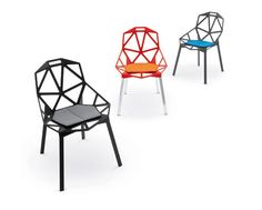 """One"" chair by Konstantin Grcic, Magis (2004)"