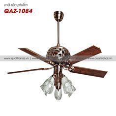 Quạt trần đèn trang trí cao cấp Mountain Air QAZ-1084