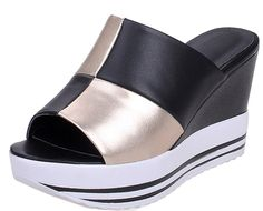 Laruise Women's Leather Heeled Sandal -- More info could be found at the image url.
