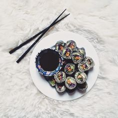 #vegan #glutenfree Can you call it sushi if it has neither rice nor fish in it? | blueberryboost