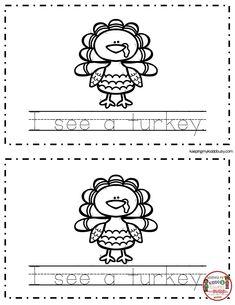 November Math and Literacy Pack - FREEBIES — Keeping My Kiddo Busy