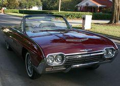 All American Сlassic Сars — 1963 Ford Thunderbird 2-Door Convertible Sports...