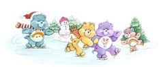 *Care Bears Ice skating
