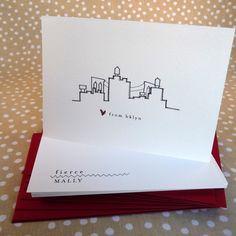 Brooklyn Wedding Welcome Bag Ideas on Borrowed & Blue.  Photo Credit: Fierce Mally via Etsy