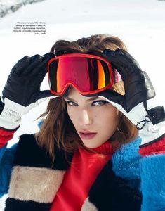 ELLE Kazakhstan December 2016 Lisa Louis by Daniela Rettore - Fashion Editorials