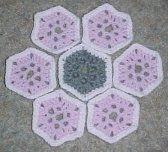 Flower Garden Afghan Motif  Free Crochet Pattern