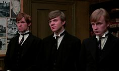 If...., with Malcolm McDowell (centre), 1968