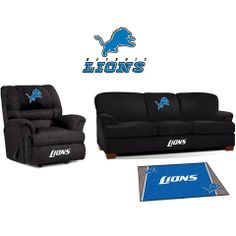 Use this Exclusive coupon code: PINFIVE to receive an additional 5% off the Detroit Lions Microfiber Furniture Set at SportsFansPlus.com