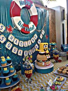 spongebob party favors pinterest - Google Search
