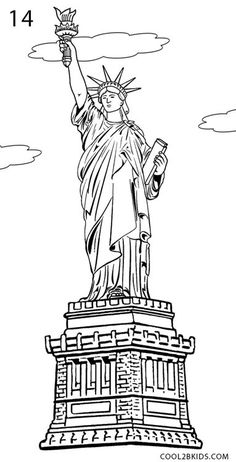 The 25+ best Statue of liberty drawing ideas on Pinterest