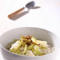 Zuppa di riso e porri | Donna Moderna