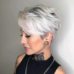 Latest Trend Pixie and Bob Short Hairstyles 2019 - Flattering Short Hairstyles That Fit You Perfectly Short hairstyles are also trendy this year. Are you looking for a haircut that will give you a beau... - #