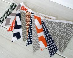 orange and navy nursery - Google Search