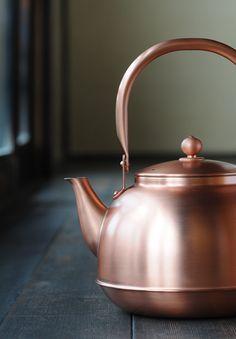 Japanese copper kettle