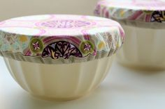 Tutorial: Potluck Bowl Covers