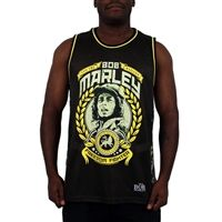 Bob Marley Military Green and Camouflage Basketball Jersey from www.bobmarleyshop.com