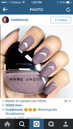 Fall nails!  Never can go wrong with Marc!