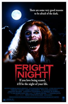fright night movie poster 1985 - Google Search