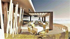 diakosmisi estiatoriou | diakosites  Διακόσμηση εστιατορίου σε παραλιακό ξενοδοχείο στην Χαλκιδική |  grammiki a | Διακοσμητές και Αρχιτέκτονες εξωτερικών χώρων. Thessaloniki, Outdoor Furniture, Outdoor Decor, Sun Lounger, Wicker, Pergola, Bamboo, Outdoor Structures, Hotels