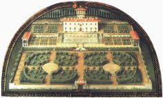 Niccolò Tribolo, Medici Villa Petraia, Florence, Italy, c. 1540