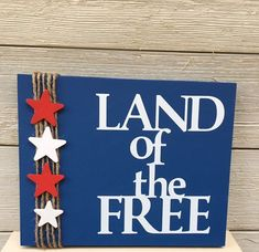 4th July Crafts, Fourth Of July Decor, 4th Of July Decorations, Patriotic Crafts, Patriotic Party, 4th Of July Party, July 4th, Memorial Day Decorations, Holiday Decorations