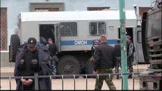 18-05-14 Russia sends riot police to Crimea to stop Tatars rally on Stalinist deportation anniversary. Photo by @Radio Liberty Radio Svoboda pic.twitter.com/WTG5qG5X2V