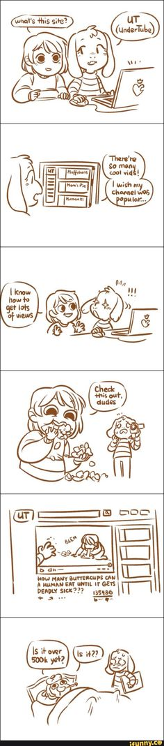 Chara is the only person in the world who would do that for a friend. (I ship Chasriel.) Undertale - Toby Fox - Chara - Asriel - Chasriel