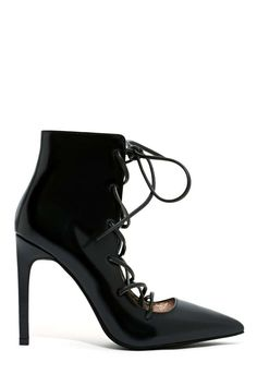 Jeffrey Campbell Sugarplum Bootie - Black