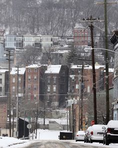 A view of the West End from Baymiller and Dayton Streets Wednesday, January 20, 2016. The Enquirer/Cara Owsley
