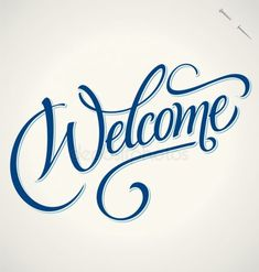 Buy 'Welcome' Hand Lettering (vector) by letterstock on GraphicRiver. WELCOME hand lettering—handmade calligraphy vector hi-res JPEG-file included px height); Welcome Font, Calligraphy Welcome, Welcome Stencil, Welcome Banner, Calligraphy Words, Calligraphy Alphabet, Hand Drawn Lettering, Creative Lettering, Lettering Design
