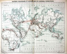 Map of the proto-internet
