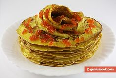 The Recipe for Thin Pancakes   Baked Goods   Genius cook - Healthy Nutrition, Tasty Food, Simple Recipes