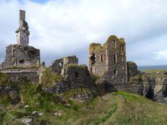 Castles in Scotland | Castle Sinclair - Girnigoe Castle, Caithness Scotland