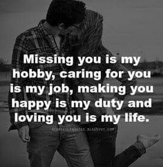 """Top 63 I Miss You Sayings On Missing Someone Quotes """"Missing someone is not tolerable one in human life. Love Quotes For Her, Missing Someone Quotes, Happy Love Quotes, Romantic Love Quotes, Quotes For Him, Be Yourself Quotes, Great Quotes, Care For You Quotes, Miss My Husband Quotes"""