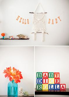 baby shower decor that makes my heart sing