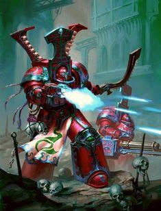Thousand Sons Terminators, Pre heresy colours Warhammer 40k Memes, Warhammer 40k Figures, Warhammer Art, Warhammer 40k Miniatures, Warhammer Fantasy, Warhammer 40000, Dark Fantasy Art, Digital Art Fantasy, Chaos Legion