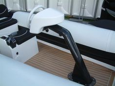 SY Magrathea - 450 Aperta tender by Rib-X, fully customised including carbon fibre console and seating