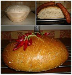 Kváskový špaldový chlieb so semienkami - zuzkinemaskrty.sk Baked Potato, Potatoes, Bread, Baking, Ethnic Recipes, Food, Potato, Brot, Bakken