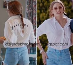 Medcezir - Mira (Serenay Sarıkaya), White Shirt
