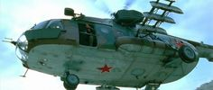 My aesthetic: Soviet Mil Mi-8 helicopters with a nose-mounted 12.7mm heavy machine gun, found extremely useful during aerial assault operations against Afghan mujahideen in mountainous terrain.