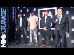 MMA Bellator presser in New York City announcing welterweight grand prix tournament