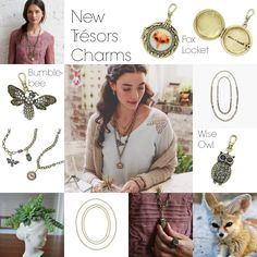I'm so delighted with the new charms! Beautiful!   Visit www.chloeandisabel.com/boutique/lisab to order these and more!   #theJewelsLoveYou