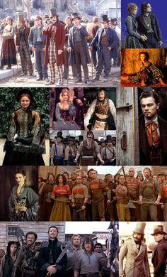 Gangs of New York, a Martin Scorsese's film. Set design: Dante Ferretti. Academy Awards Nomination 2003