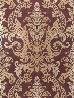 Fabricut Wallpaper - Gorgeous - Pomegranate - Our Price:  $84.99 Per Roll…