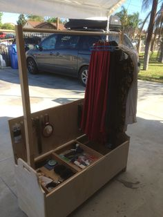Plywood Camp Closet and Storage Chest. 12 x by SawdustWoodCrafting