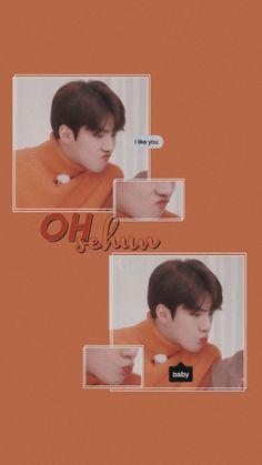 exo edits — baekhyun and sehun wallpaper Kyungsoo, Chanyeol, Hunhan, Baekhyun Wallpaper, Sehun Cute, K Wallpaper, Pastel Wallpaper, Exo Lockscreen, Kpop Exo