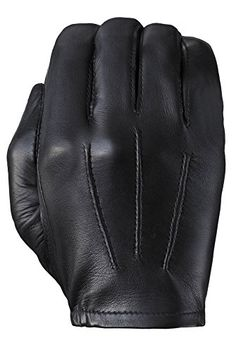 Tough Gloves Men's Ultra Thin Elite Cabretta Lined leather gloves Size 9 Color Black * Check out this great product.